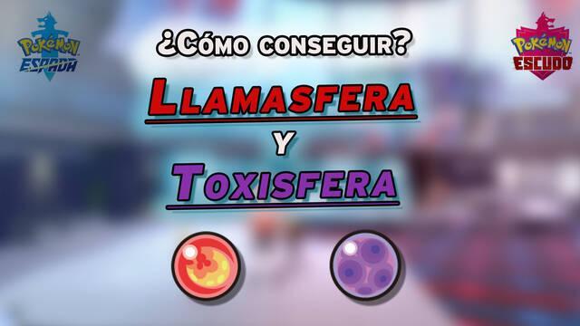 Cómo conseguir la Llamasfera y la Toxisfera y usarlas bien en Espada y Escudo