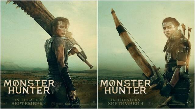 Monster Hunter muestra dos nuevos pósters oficiales