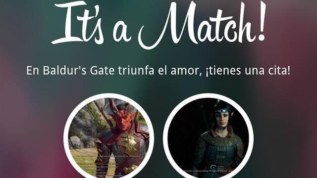 El amor triunfará en Baldur's Gate 3