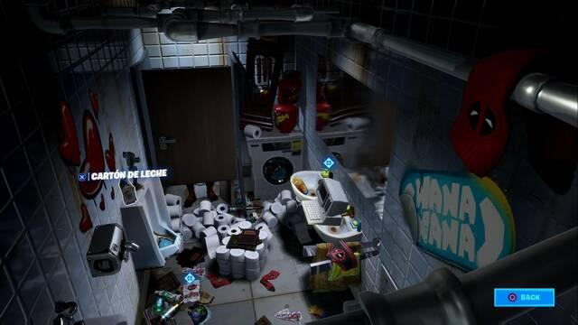 Desafío Fortnite: Encuentra el cartón de leche de Deadpool - SOLUCIÓN