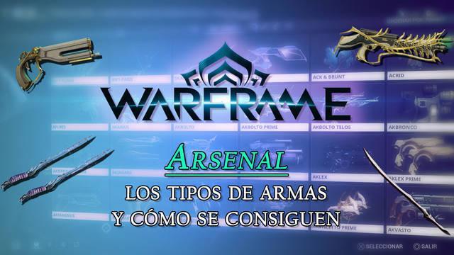 Warframe: Todos los tipos de Armas, cómo se consiguen y se suben de rango