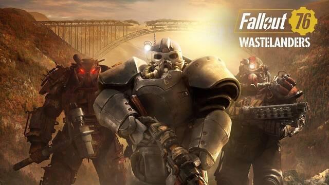 wastelanders llega a fallout 76