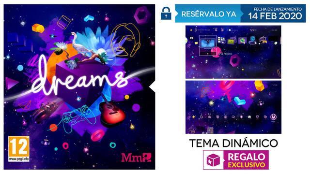 Reserva Dreams en GAME