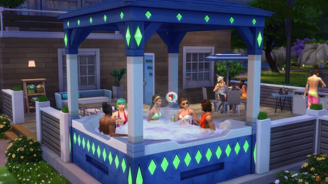 Los Sims 4 20 aniversario bañera gratis