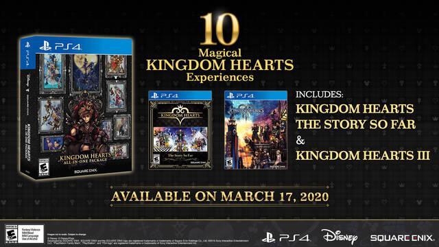 pack de kingdom hearts con toda la saga para ps4