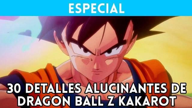 30 detalles alucinantes de Dragon Ball Z Kakarot