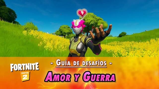 Fortnite: Guía de desafíos Amor y Guerra - Solución y objetivos