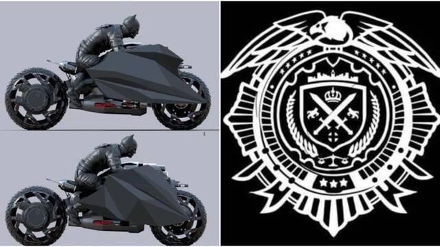 Supuesta moto de Batman
