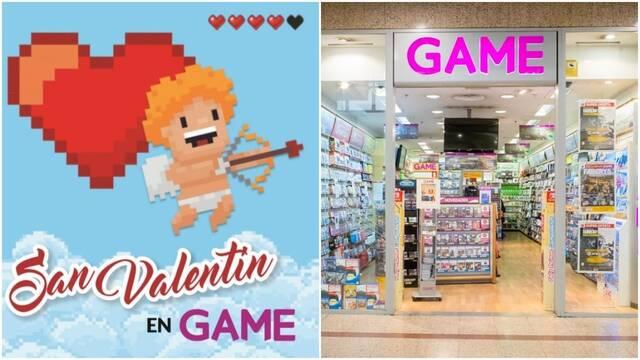 game detalla sus ofertas para san valentín