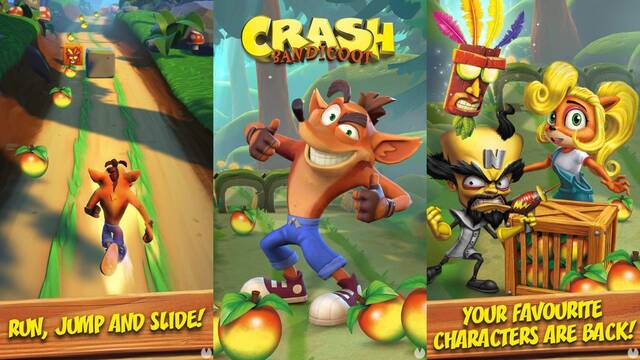 Anunciado Crash Bandicoot Mobile.