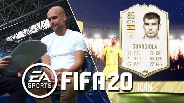 FIFA 20 Pep Guardiola FUT