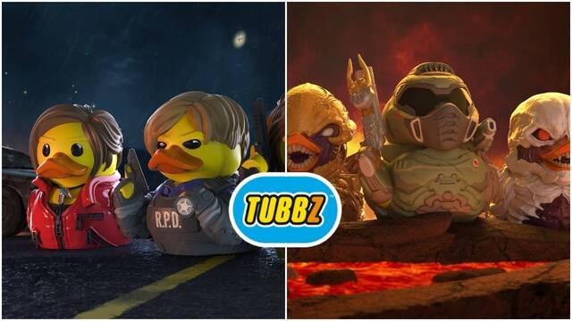 más patos tubzz con personajes de videojuego