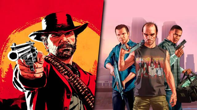 Red Dead Redemption 2 y Grand Theft Auto V de Rockstar