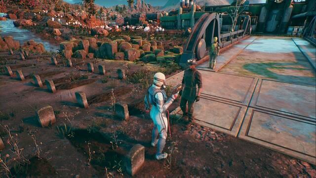 Cómo completar Un pequeño asunto funerario en The Outer Worlds