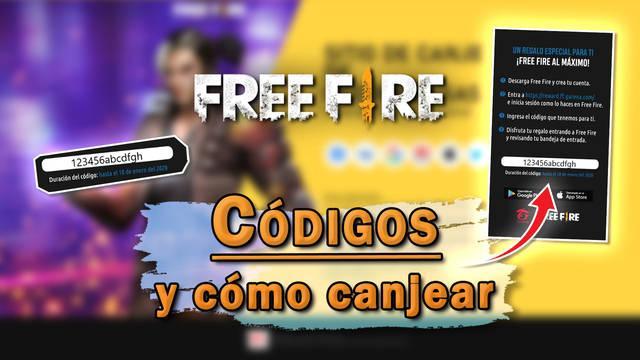 Free Fire: todos los códigos de recompensas gratis - (Febrero 2021)
