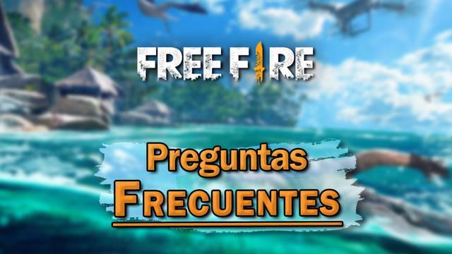 Preguntas frecuentes en Free Fire