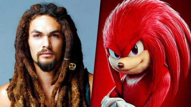 Jason Momoa en conversaciones para ser Knuckles en Sonic 2 La Película