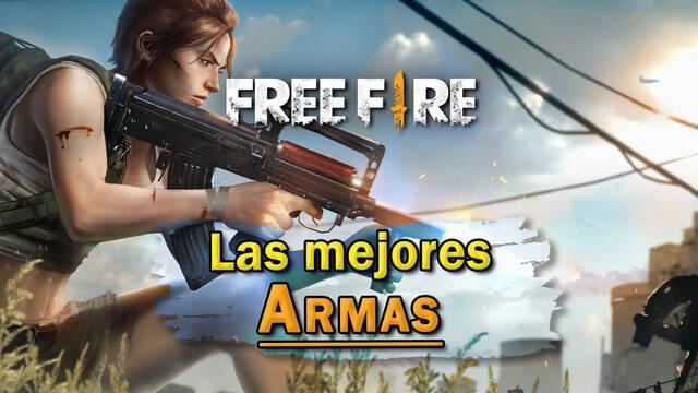 Free Fire: Cuáles son las MEJORES armas para cada situación