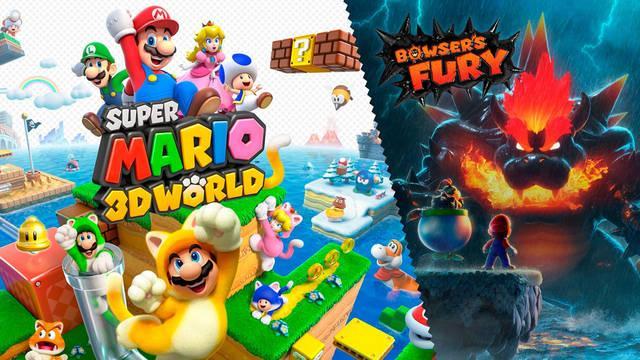 Super Mario 3D World + Bowser's Fury Nintendo Switch y WiiU comparativa