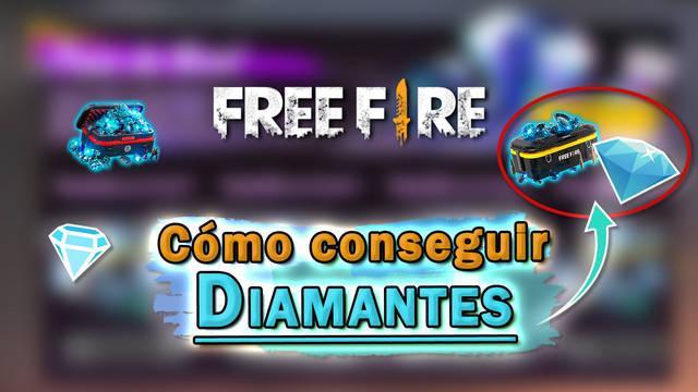Free Fire: Conseguir Diamantes gratis - LEGAL
