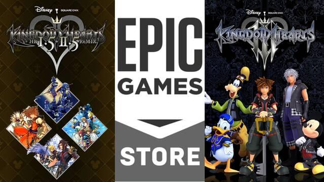 Kingdom Hearts llega a PC gracias a Epic Games Store