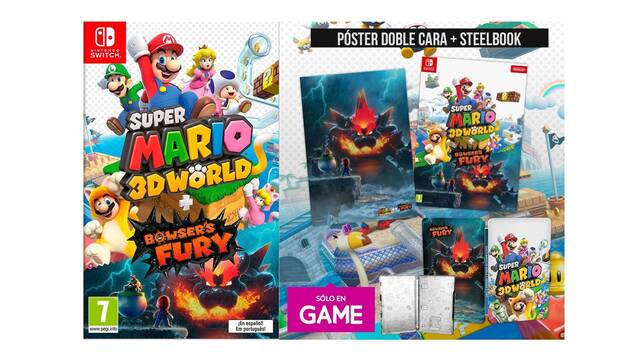 Super Mario 3D World + Bowser's Fury en GAME