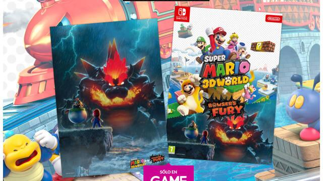 GAME y Super Mario 3D World + Bowser's Fury