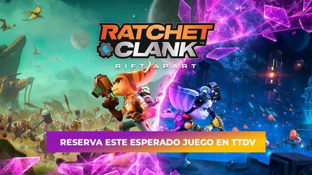 TTDV abre las reservas de Ratchet & Clank: Una Dimensión Aparte.