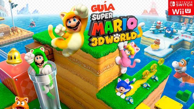 Guía Super Mario 3D World (Switch): trucos, consejos y secretos