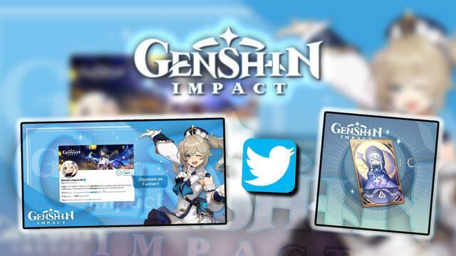 Genshin Impact estrena cuenta de Twitter en España y lanza un sorteo especial