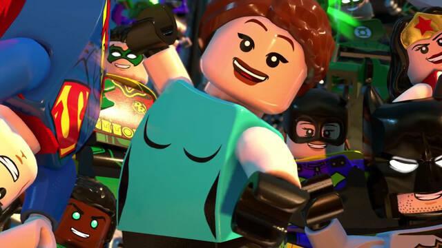 Lara Croft en LEGO