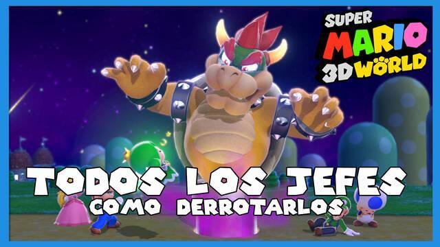 Super Mario 3D World: TODOS los jefes y cómo derrotarlos