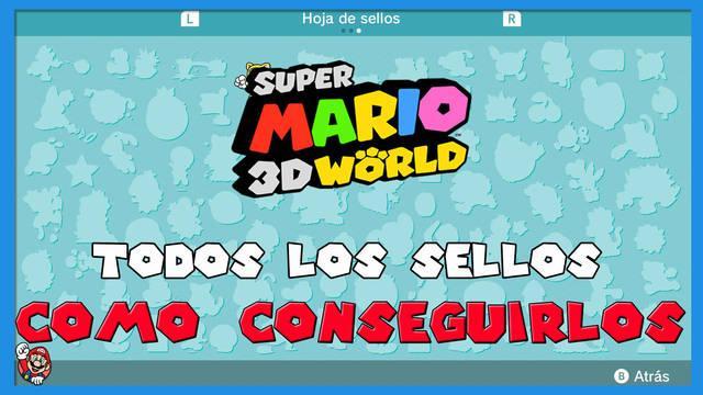 Super Mario 3D World: TODOS los sellos y cómo conseguirlos