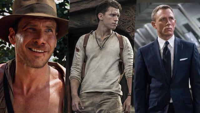 Uncharted Película Indiana Jones James Bond 007