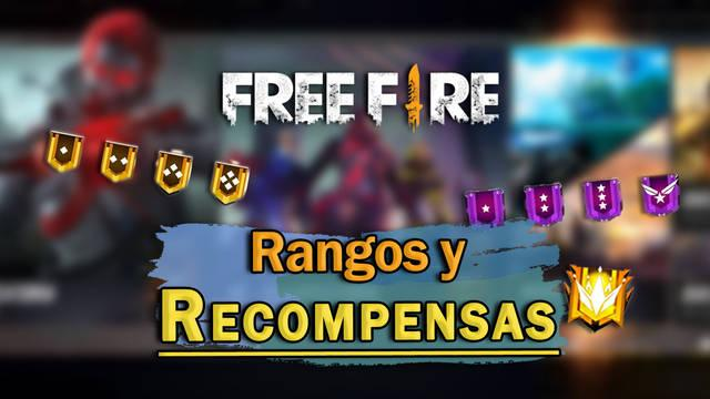 Rangos de Free Fire: TODAS las recompensas y cómo ganar puntos PR