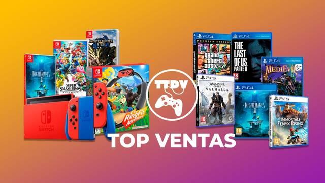 Top ventas de febrero en TTDV.