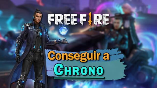 Free Fire: Cómo conseguir a Cristiano Ronaldo (Chrono)