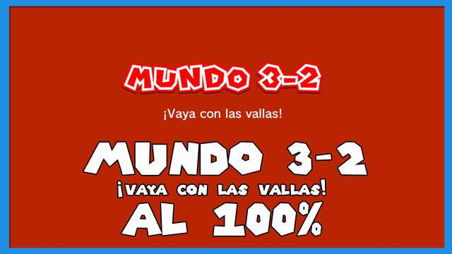 Super Mario 3D World: ¡Vaya con las vallas! al 100%