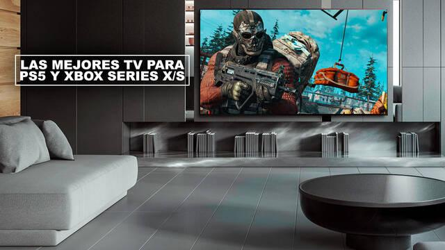 Mejores TV para PS5 y Xbox Series X/S (4K, 120fps, HDR, VRR...)