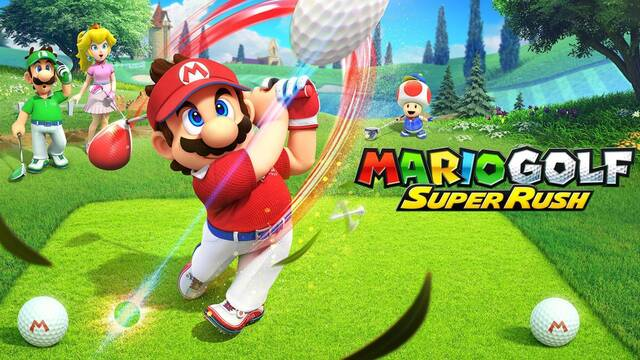 Mario Golf Super Rush llegará a Switch el 25 de junio.