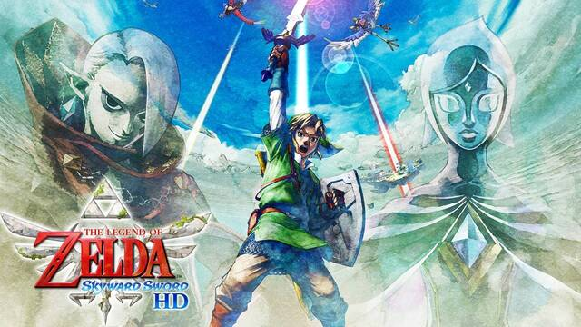 The Legend of Zelda: Skyward Sword HD anunciado para Switch.