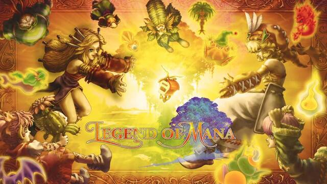 Legend of Mana llegará remasterizado a PS4, PC y Switch el 24 de junio.