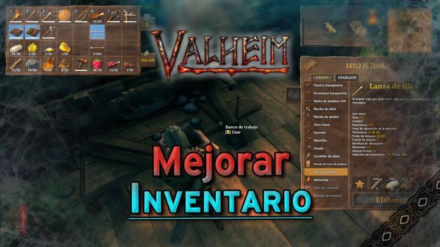Valheim: Cómo aumentar el inventario para llevar más objetos