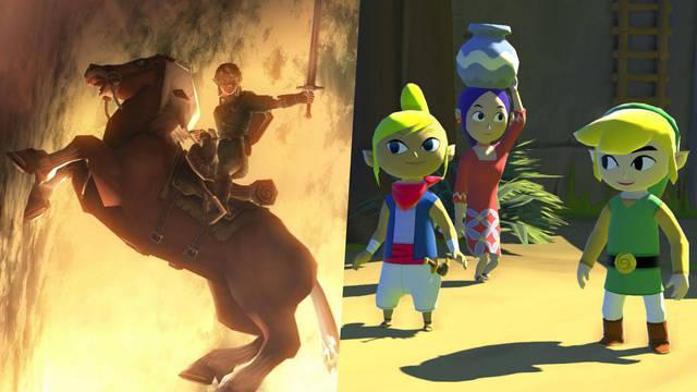 Zelda Wind Waker y Twilight Princess para Nintendo Switch