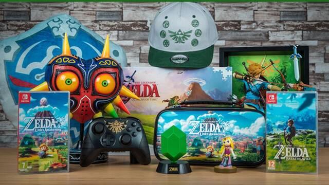 Ofertas y merchandising de The Legend of Zelda en GAME por su 35 aniversario.