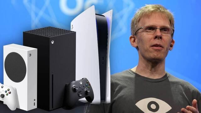 Carmack propone que Sony y Microsoft vendan PS5 y Xbox Series X/S sin intermediarios.