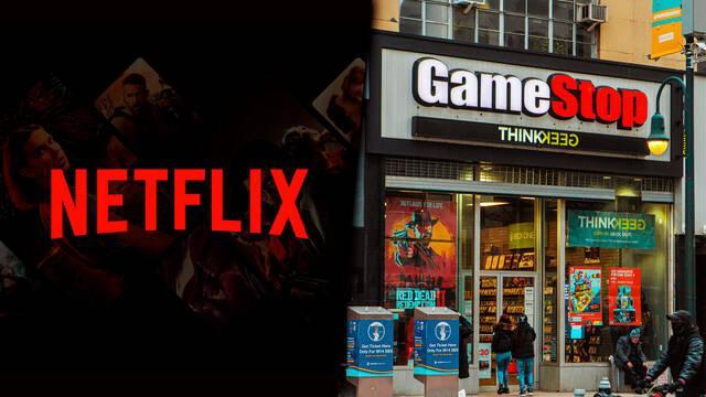 Netflix película de GameStop