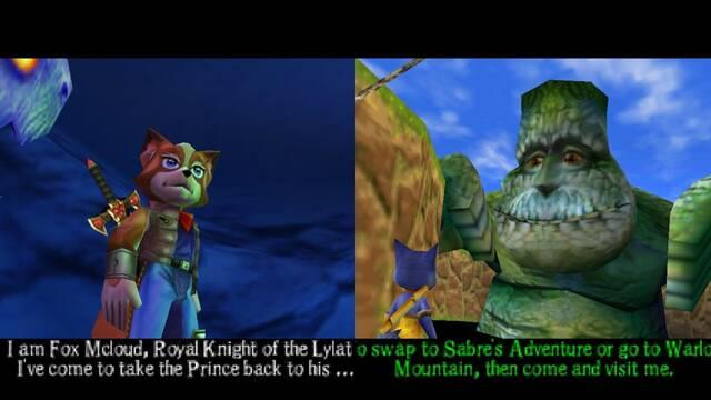 Rescatan un prototipo del cancelado Dinosaur Planet para Nintendo 64