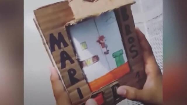 El bulo de la demanda de Nintendo a un niño por fabricar una Game Boy de cartón