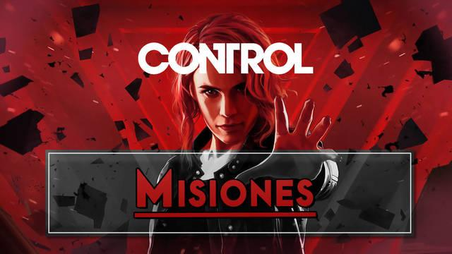 Control: Todas las Misiones e historia al 100%